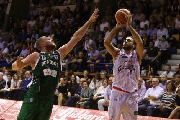 Pietro Aradori, stella dell'attacco di Reggio Emilia - Source: pallacanestroreggiana.it