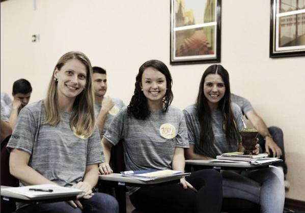 Andreza, Maíra e Luiza durante pré-temporada do Gauchão 2018. Foto: Acervo pessoal/Instagram