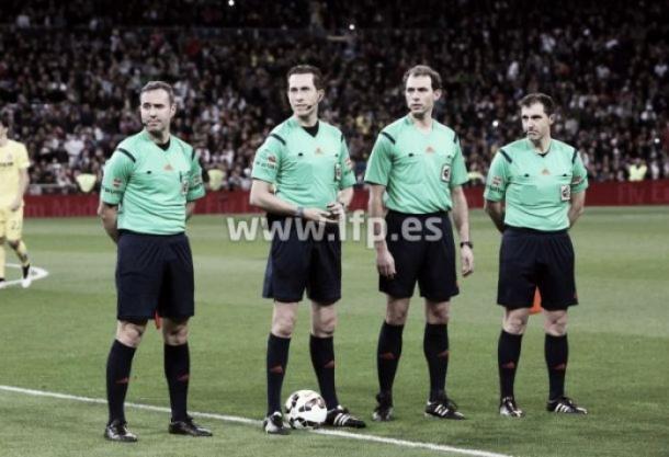 Gónzalez González, árbitro de la contienda| Foto: LaLiga