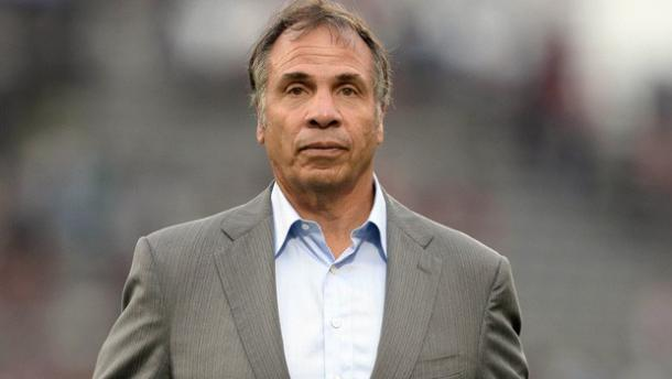 LA's head coach and general manager Bruce Arena might be facing one of the most biggest challenges in his 11-year MLS head coach career. Photo provided by USA TODAY Sports.