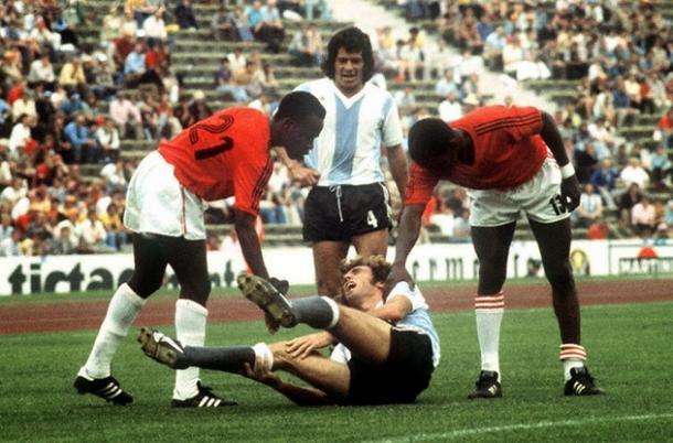 Haití se enfrentó a la Argentina en el '74 (Foto: Web).