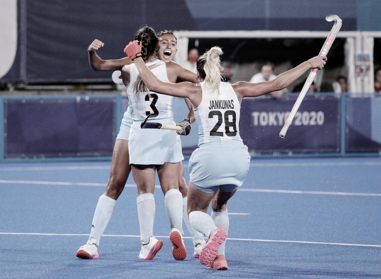 Argentina consiguió su primer triunfo | Foto: Tokyo 2020