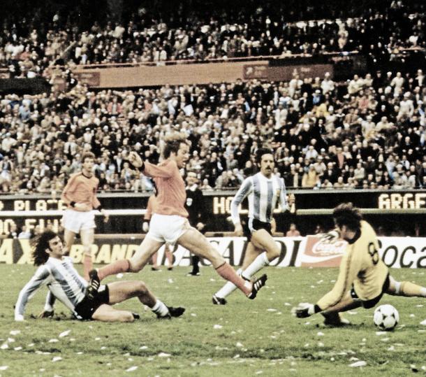 Segunda final consecutiva de un Mundial, que perdió Holanda. Foto: UEFA.com