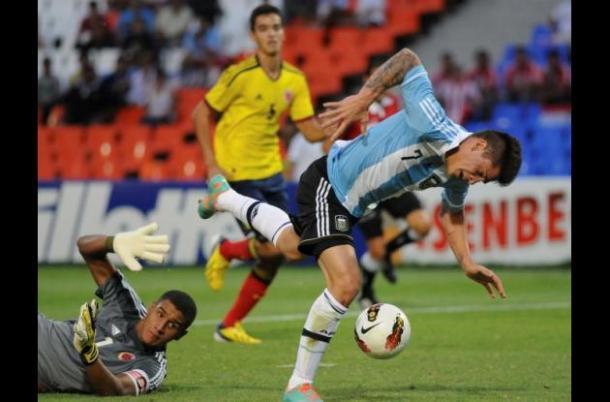La selección Colombia se clasificó segunda de su grupo I Foto: EL UNIVERSAL: