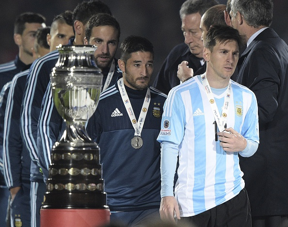 Cansada de vices, Argentina deve vir com sede ao pote (Foto: Juan Mabromata/Getty Images)