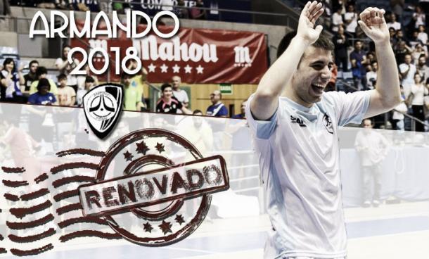 Armando renovado | Foto: @Santiago_Futsal