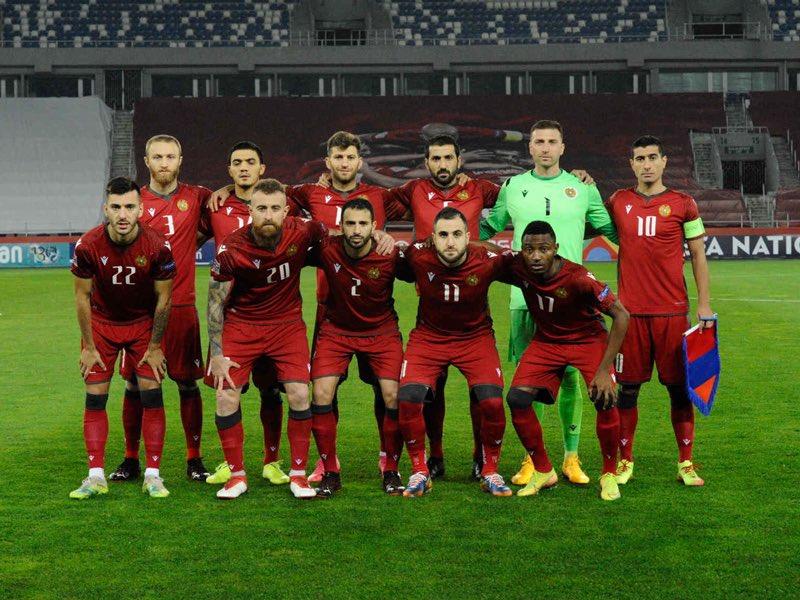 La Armenia de Caparrós, rival interesante / FOTO: @OfficialArmFF