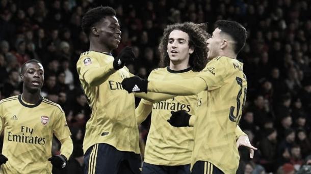 Arsenal volvió a sonreír | Foto: FA
