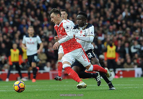 Arsenal-Tottenham que terminó en empate. Foto: Arsenal Pics