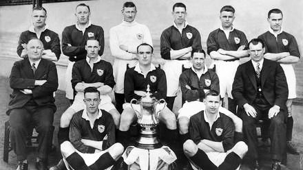 Chapman y el primer gran logro del Arsenal: la FA Cup   Foto: arsenal