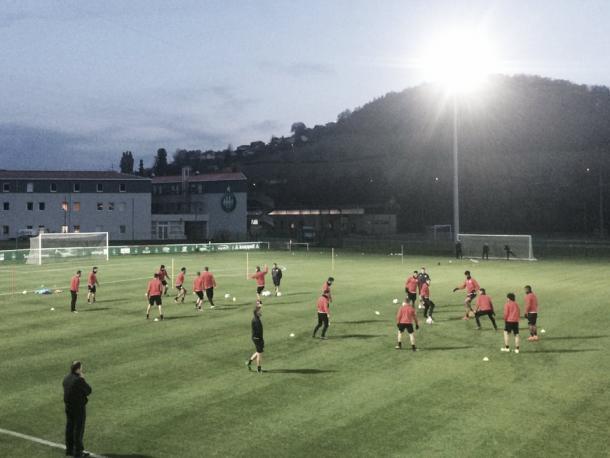 Última sesión antes del partido| Fuente: Mainz 05