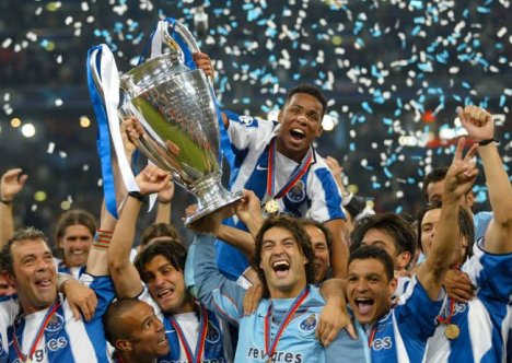 Porto campeón de la UCL 2003/04   Foto: UEFA