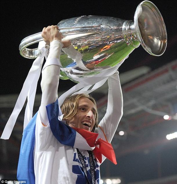 Luka Modric con la Décima | Foto: Getty Images