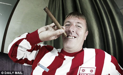 Su estilo de vida le impidió ser importante en la selecciono inglesa, uno de sus sueños. (Foto: Daily Mail)