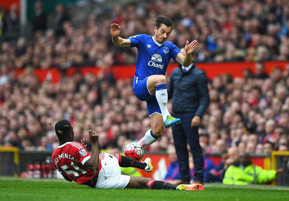 Fosu-Mensah during the Everton game | Photo: Shaun Botterill/Getty Images Sport