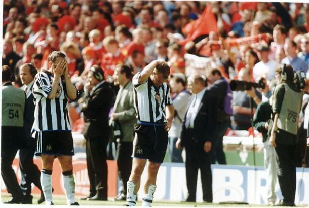 The campaign would eventually end in heart-break for the Toon Army. (Photo: Daily Mail)