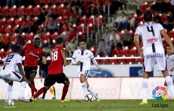 El Huesca apeó al Mallorca de la Copa del Rey | Foto: LFP.