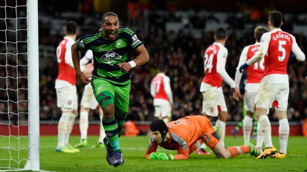 Ashley Williams' midweek winner was the latest trick that the relegation race pulled out of its hat.   Photo: Sky Sports