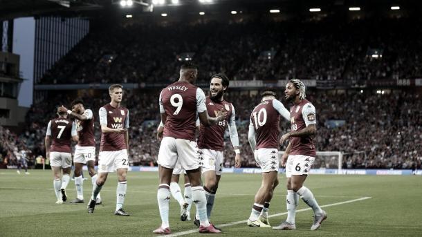 Aston Villa./ Foto: Premier League