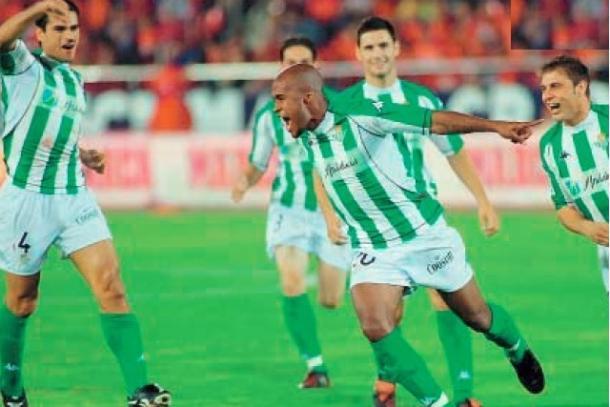 Assunçao celebrando un gol de falta / Foto: blog.20minutos.es