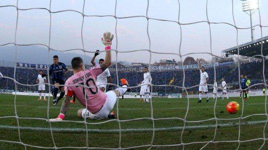 German Denis in gol all'andata, nel 3-0 per la Dea   palermo.gds.it