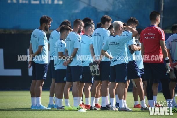 El equipo preparó el choque Europeo bajo las órdenes de Gallego | Foto: VAVEL