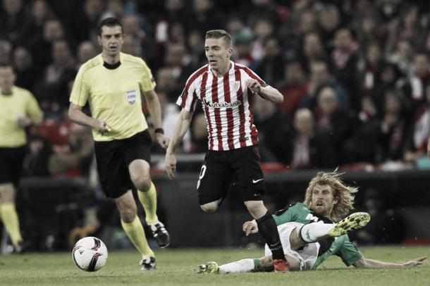 Muniaín realizó un buen partido | Foto: Athletic
