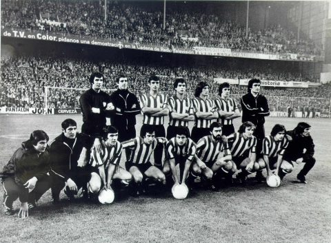 Final de la Copa de la UEFA en San Mamés    Foto: Web oficial del Athletic Club