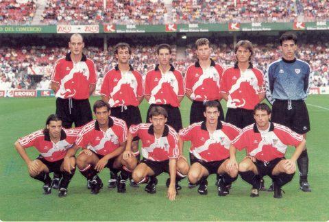 La plantilla del Athletic en el primer centenario del club    Foto: Web oficial del Athletic
