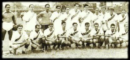 Inicios de Atlético Municipal en 1947, la base del equipo fue Indulana Football Club   Foto: Archivo fotográfico.