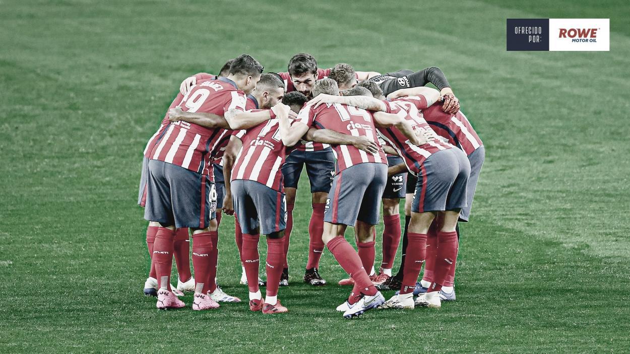 El Atlético de Madrid tratará de trasladar su buena dinámica a la Champions./ Foto: Atlético de Madrid