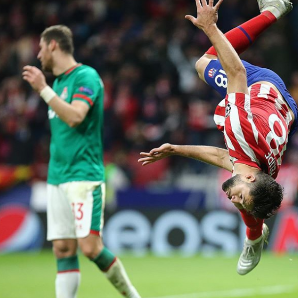 Foto:Reprodução/Atlético de Madrid