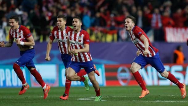 I penalty che nella scorsa stagione decisero il confronto agli ottavi.8-7 in favore dell'Atletico. Fonte foto: lapresse.