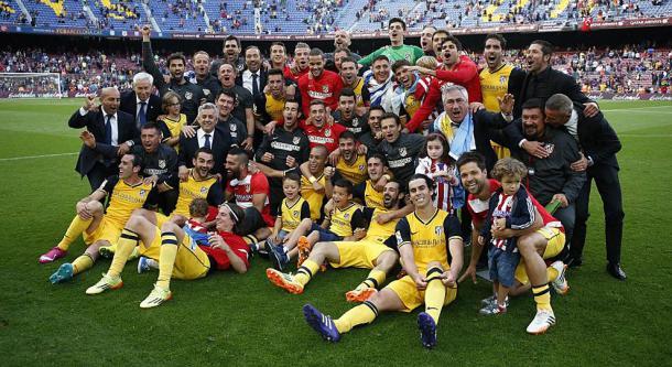 Atlético campeón de Liga 2013/2014
