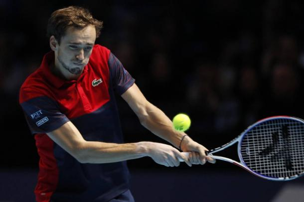 Medvedev ends his season on a four-match losing streak/Photo: Associated Press