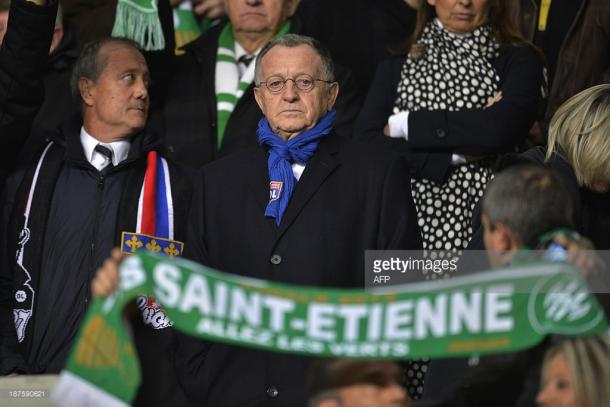Lyon's controversial president  Jean-Michel Aulas. Source | Getty Images.