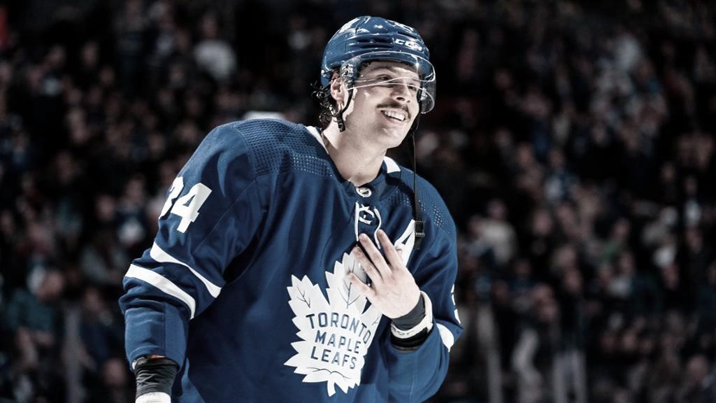 Matthews es la punta de unos Leafs que aspiran a todo   Foto: NHL.com