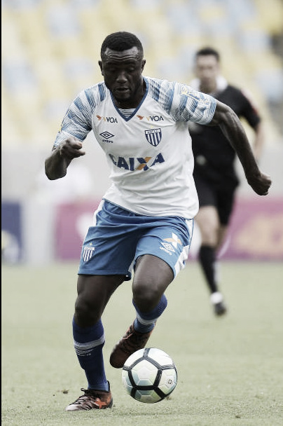 Joel, autor dos dois gols sobre o Botafogo no primeiro turno (Foto: Alexandre Loureiro/Getty Images)