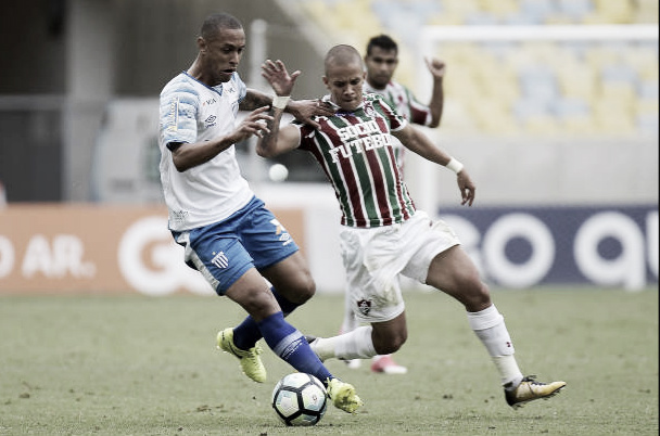 Duelo entre Fluminense x Avaí no Maracanã (Foto: Alexandre Loureiro/Getty Images)