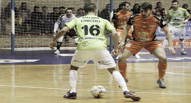 caa667883c07e Resumen Osasuna Magna 2-3 Palma Futsal en la LNFS 2017 - VAVEL.com