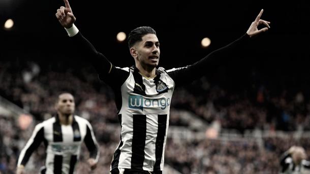 Ayoze es la esperanza del Newcastle para este partido./ Foto: Premier League