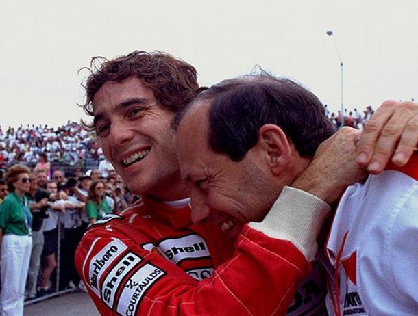 Ayrton Senna e Ron Dennis | formulapassion