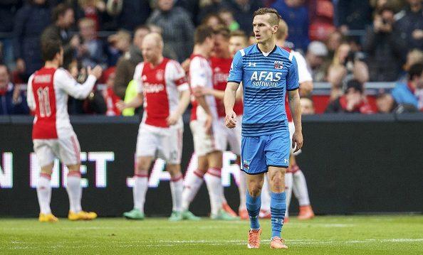 AZ 2-2 Ajax. Foto: Eredivisie
