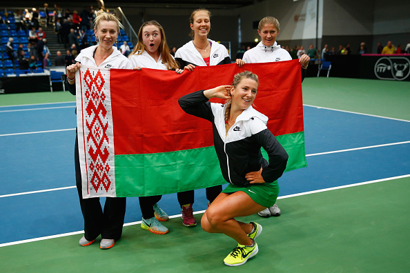 Azarenka will play for her country for the first time this year (Photo: Getty Images/Julian Finney)