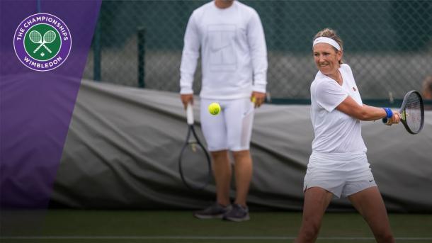 Azarenka's back at Wimbledon (Source: Wimbledon)