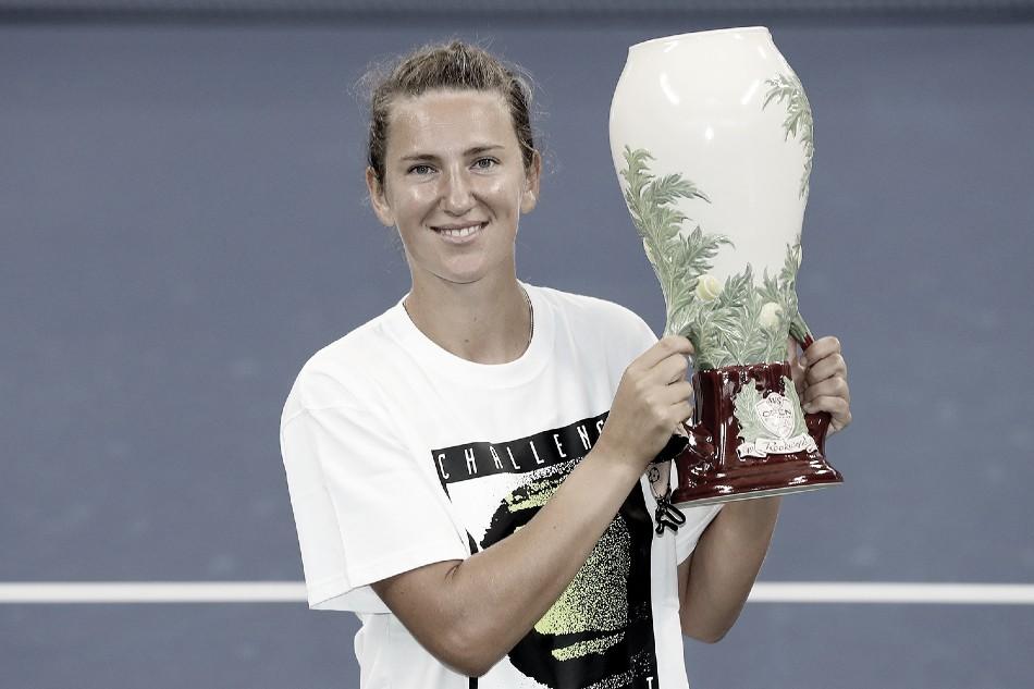 Victoria Azarenka, campeona 2020 Foto Western & Southern Open @CincyTennis