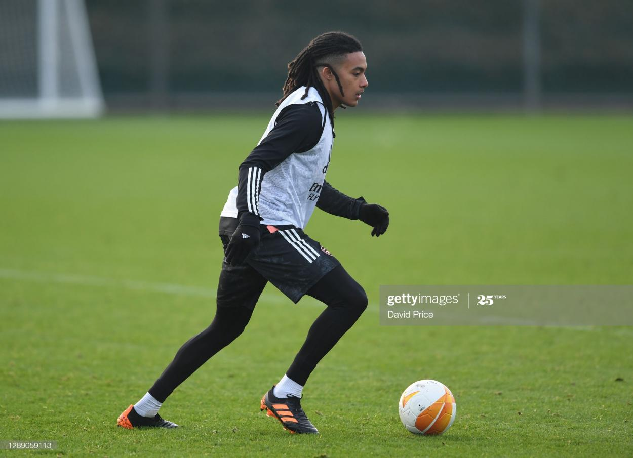 Migeul Azeez has been training with the first team and will hoping to make his first team debut (Photo by David Price via Getty Images)