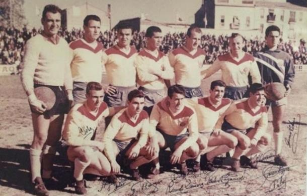 Once inicial del primer ascenso a Primera División