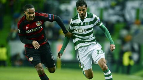 1ª mão em Alvalade (0-1). | Photo: footballvideohighlights.com
