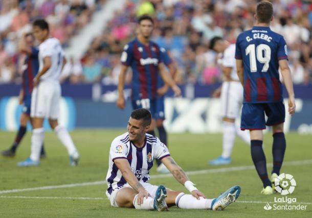 Guardiola se lamenta de una acción de ataque   LaLiga